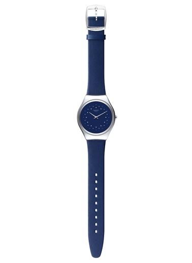 Swatch SYXS127 (Ø 38 MM) Bayan Kol Saati Lacivert
